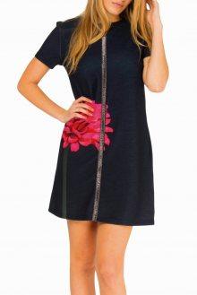 Culito from Spain černé šaty Florecita - XS