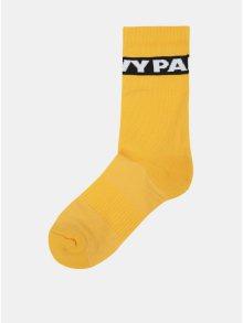 Sada dvou párů ponožek ve žluté barvě Ivy Park