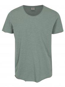Světle zelené basic tričko Jack & Jones Bas