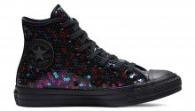 Converse Chuck Taylor All Star Holiday Scene Sequin High Top Multicolor C562443