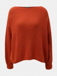 Oranžový svetr French Connection
