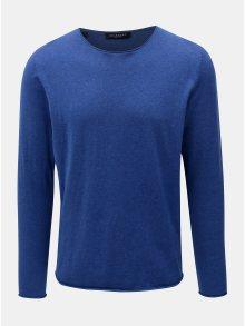 Modrý lehký basic svetr Selected Homme Dome