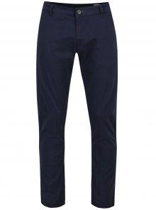 Tmavě modré chino kalhoty Selected Homme Three Paris