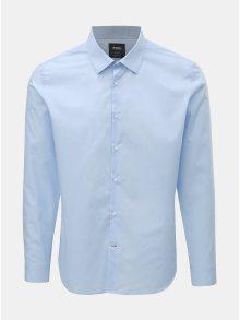 Světle modrá slim košile Burton Menswear London