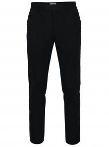 Tmavě modré formální kalhoty Jack & Jones Premium Steven