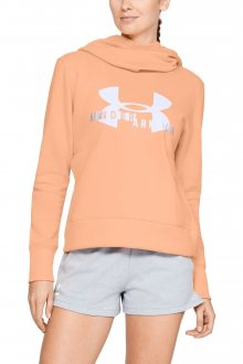 Under Armour lososová mikina Sportstyle Logo Hoodie - XS