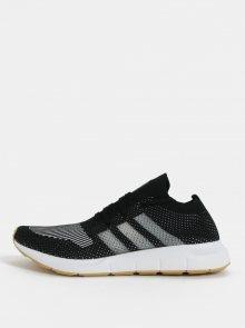 Bílo-černé pánské tenisky adidas Originals Swift Run PK