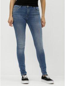 Modré skinny fit džíny ONLY Maya