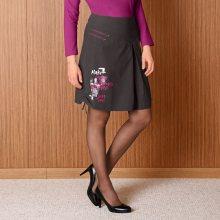 Blancheporte Originální sukně šedá 40