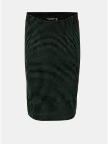 Černo-zelená těhotenská vzorovaná sukně Dorothy Perkins Maternity