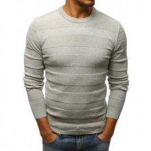 Pánský STYLE svetr šedý