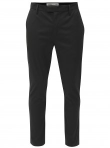 Černé slim fit chino kalhoty Burton Menswear London