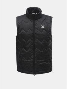 Černá pánská prošívaná vesta adidas Originals