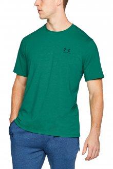 Under Armour zelené sportovní pánské tričko Cc Left Chest Lockup - XL