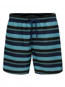 Modré pánské pruhované plavky O\'Neill Bondi