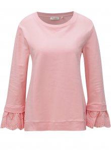 Světle růžová mikina s vyšívaným vzorem Rich & Royal
