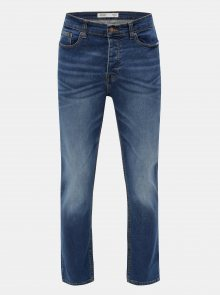 Modré stretch bootcut džíny Burton Menswear London