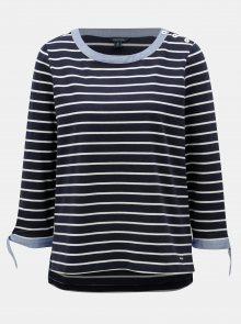Tmavě modré pruhované tričko Nautica