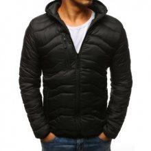 Pánská STYLE bunda prošívaná s kapucí černá