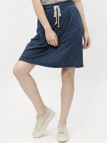 Tmavě modrá dámská vzorovaná sukně Ragwear Tigua Organic