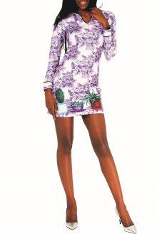 Culito from Spain barevné šaty 3 Macetas - S