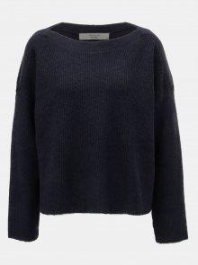 Tmavě modrý svetr Jacqueline de Yong Mille