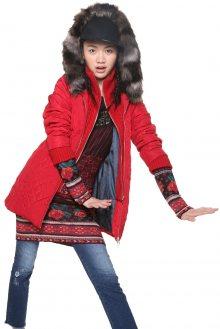 Desigual červená bunda Maca - 36