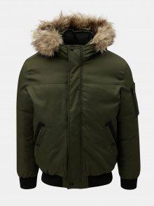 Zelená zimní bunda Jack & Jones Cokey