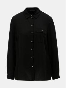Černá halenka s kapsou Dorothy Perkins