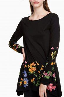 Desigual černé tričko Corinne - S