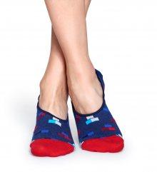 Happy Socks modré nízké ponožky do tenisek Bricks - 41-46
