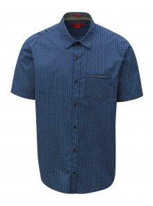 Modrá pánská regular košile s.Oliver