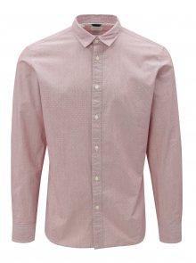 Růžová slim fit košile Selected Homme