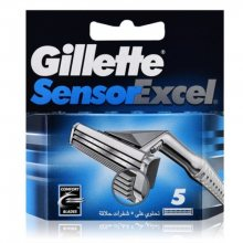 Gillette Náhradní hlavice Sensor Excel 5 ks