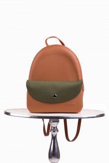 Justo hnědý batoh J-Pack Cuoio/Oliva