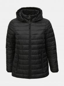 Černá prošívaná bunda Zizzi