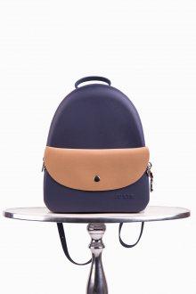 Justo modrý batoh J-Pack Prussia/Cuoio