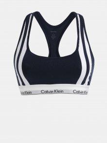 Bílo-modrá podprsenka Calvin Klein Underwear