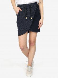 Tmavě modrá puntíkovaná sukně Ragwear