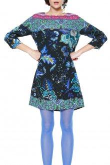 Desigual barevné šaty Killpop - 36