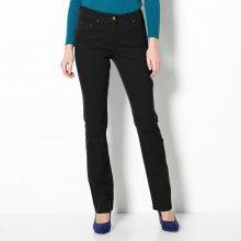 Blancheporte Strečové rovné kalhoty černá 38