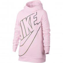 Nike G Nsw Modern Hoodie Po Gfx růžová 128