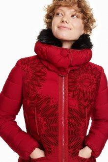 Desigual červená bunda Komoderi - 36