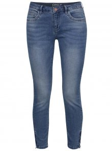 Modré skinny fit džíny ONLY Kendell