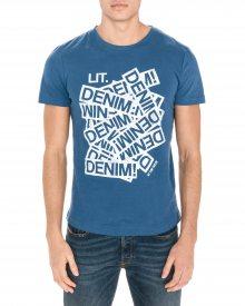 Triko Tom Tailor Denim | Modrá | Pánské | XL