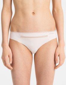 Calvin Klein pudrová tanga Thong - XS