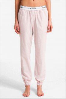 Calvin Klein růžové domácí kalhoty Jogger - XS