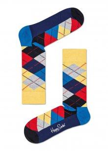 Happy Socks kárované ponožky Argyle  - 36-40