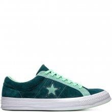 Converse zelené kožené unisex tenisky Chuck Taylor One Star OX Ponderosa Pine/Neptune Green - 37