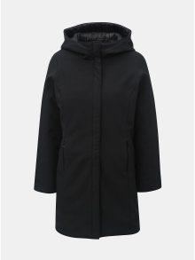 Černý oboustranný kabát s kapucí VERO MODA Reversible